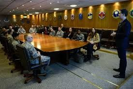 Visit to Mildenhall RAF Base in the United Kingdom - September 2014